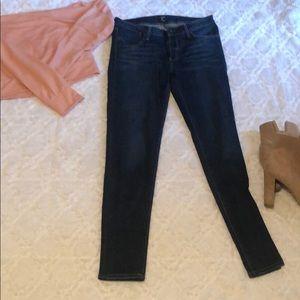Just black barely worn dark jeans